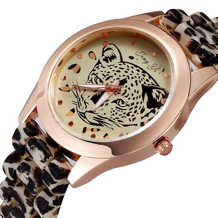 Woman Watches 2014 Leopard Watch Lion Analog Quartz Women Dress Leather Strap Clock relogio feminino Famous Stylish watch - international trading LTD ( and retail store)