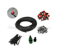 Free Shipping Self Watering Garden Hose Micro Drip Irrigation System Sprinkler 15M (STHG-0032_15) On Sale(China (Mainland))
