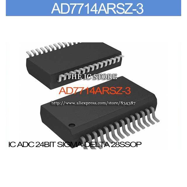 AD7714ARSZ-3 IC ADC 24BIT DELTA 28SSOP AD7714ARSZ Inc 7714A AD7714AR 7714AR AD7714 7714ARS(China (Mainland))