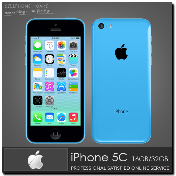 Мобильный телефон 5C 100% iphone 5C IOS 8 4.0 IPS 8MP 1080 p 16 /32 /64 WIFI 3G Apple мобильный телефон 6 iphone 6 8mp 2g 3g 4g apple ios 8 16 g rom