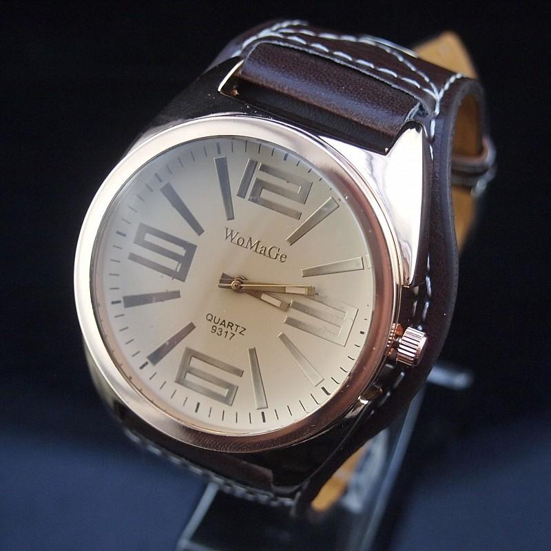 Hot fashion unisex leather strap watches men luxury brand big dial wristwatch for lovers Digital quartz sport men dress watch<br><br>Aliexpress