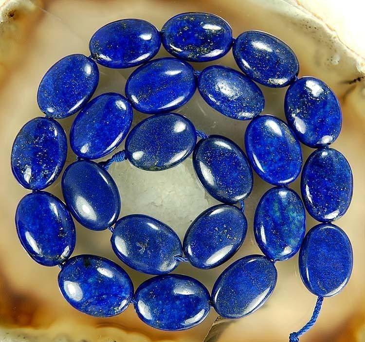(Min Order1) AA 13*18mm Egyptian Lapis Lazuli Oval Loose Beads Fashion Jewelry Making Jasper Natural Stone Women Gift 15INCH(China (Mainland))