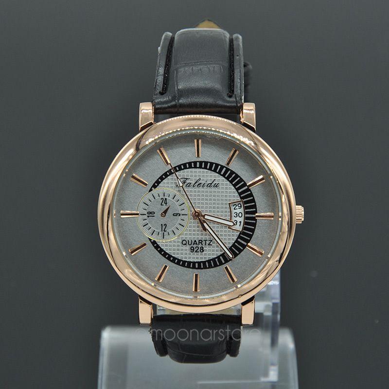 2015 NEW Wrist Watch Men s Round Fashion Luxury Quartz Analog Watches Men Sports Wrist Watch