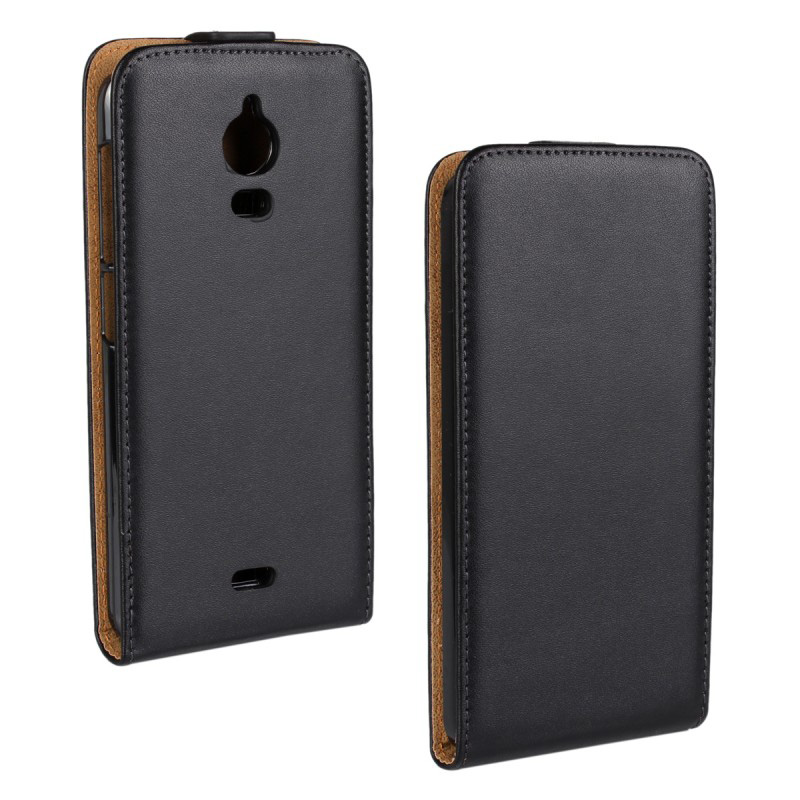30 pcs/lot Solid color Leather Flip Cover Case Wiko Wax
