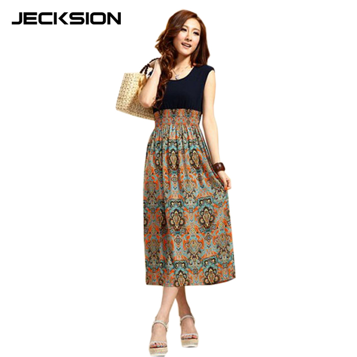 Женское платье Bohemia Dress 2015 & s Jecksion Summer Dresses женский топ anne jecksion 2015 o fmf5051034
