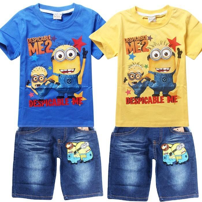 Minions farmer r vidnadr g s pol szett gyerek kamasz for 7 year old boy shirt size