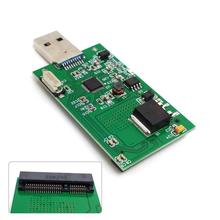 Новый мини PCI-E mSATA для USB 3.0 внешний SSD PCBA Conveter высокой скорости адаптер карты без чехол SA-167