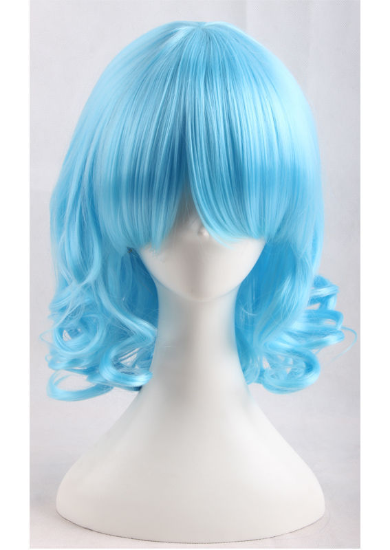 Hot sale TJCOS>>> Fashion Full Face Project Cosplay Party Wig(China (Mainland))