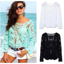 wholesale crochet blouse