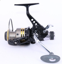 Metal Spool anti SaltWater Spinning Fishing Reel Carretilha Pesca Wheel PR 12+1BB 5.0:1 Baitrunner daiwa baitcasting abu garcia