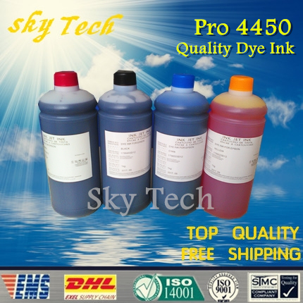 1L*4  [ Buy 4 Get 5 ,buy 7 get 9] Dye refill ink suit for Epson T6138  T6148 series, suit for Epson stylus pro 4450 wide-format