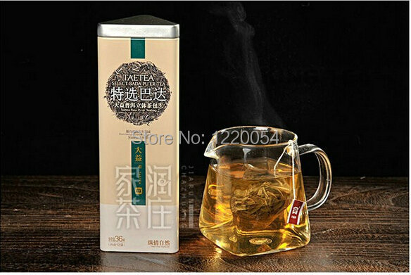 Puer Ripe/Ripened Tea 2012 TAE TEA Dayi Selected BaDa LooseTea With TeaBag Cooked/Matured / Fermented/Shou Cha 36g*5cases=180g!<br><br>Aliexpress