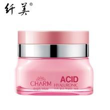 50g Korean Hyaluronic acid Deep Filling Water Day Cream Woman Face Whitening Moisturizing Anti-Wrinkle Skin Care Facial Cream(China (Mainland))