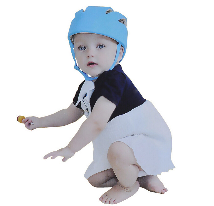 2015 Baby Safety Helmet Toddler Cap Baby Anti- Shock Hat Infant Protective Hat For Learning Walk & Size Adjustable(China (Mainland))
