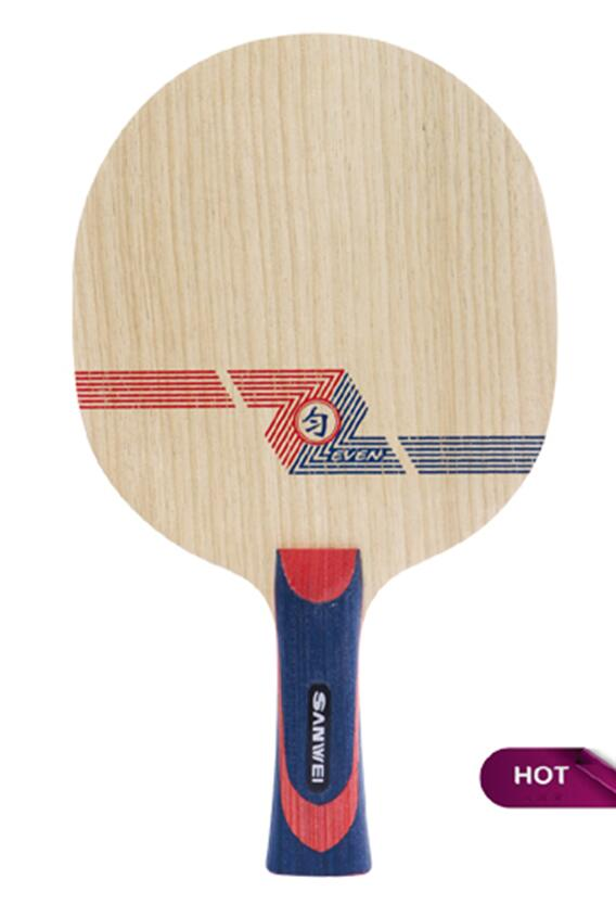 High-End SANWEI EVEN Multi-Layers 10 wood+9 carbon Table Tennis Blade/ ping pong blade/ table tennis bat Free Shipping(China (Mainland))
