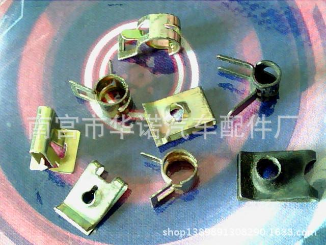 Automobile manufacturers supply generic plastic buckle plastic clamp pads fast silk(China (Mainland))