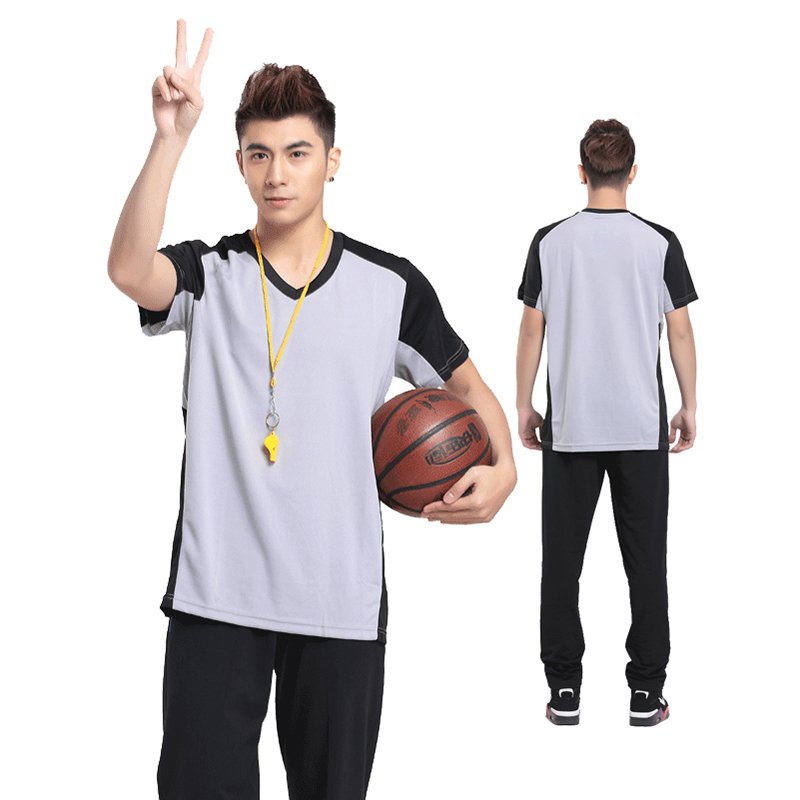 Men's Official Referee Umpire Jersey Comfortable Light weight Casual Shirt for Officials Breathable More Printing Hot Sale(China (Mainland))