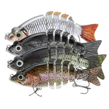 "10cm 21g LIXADA 4"" Isca Artificial Fishing Lure Crankbait Hard Fishing Bait Swimbait Pesca Lures for Bass Pike Fishing Tackle(China (Mainland))"