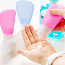 Travel Goods portable fan silica gel shampoo shower gel points bottling travel cosmetic bottles pressed squeeze(China (Mainland))