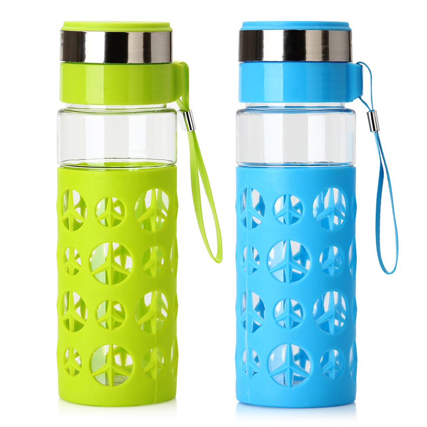 Portable Water Bottle : Drop resistance plastic water bottles fitness drinking