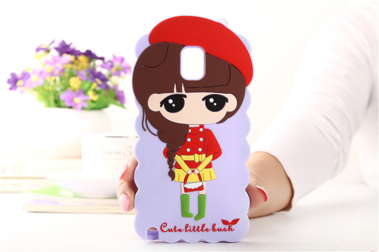 Case for Samsung galaxy note 3 phone case New Arrival Cute cartoon characters Girl xiaoxi n9000 soft silicone cover MOQ: 1pcs(China (Mainland))