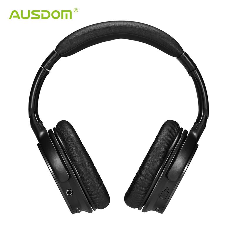 AUSDOM M06 Bluetooth Headphone Wireless Stereo Deep Bass Headband Handsfree Headset for iPhone Samsung Phone Tablet Computer<br><br>Aliexpress