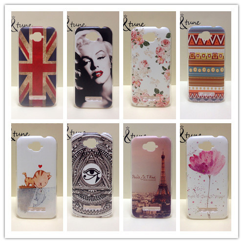 New Painting Hard PC Plastic Phone Case For Alcatel One Touch POP C7 OT 7041D OT 7040D Shell Back Cover+ Screen protector(China (Mainland))