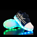 Children Shoes With Light For Boys Girls Chaussure Lumineuse Enfant Led Shoes With Usb Charging Light