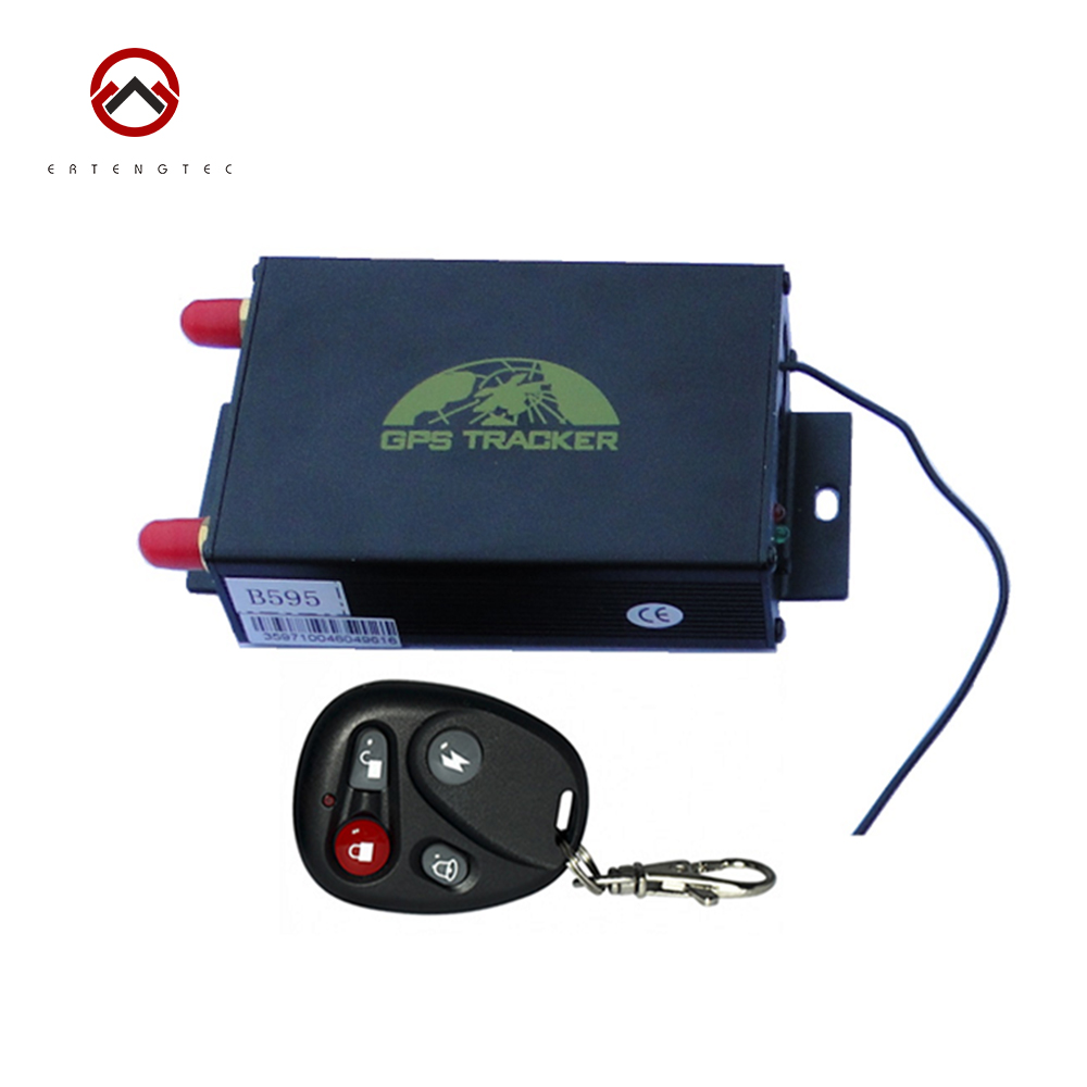 Vehicle GPS Tracker TK105B GSM Alarm System Tracking Device Remote Control GPS LBS Double Tracking Over Speed Alarm Cut Off Oil(China (Mainland))