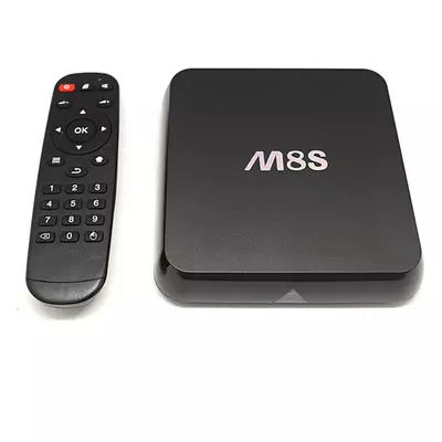 2015 New Product Android 4.4 Quad-core Set Top Box AMLS812 M8S 4K HD TV Box IP STB Very Clean Player(China (Mainland))