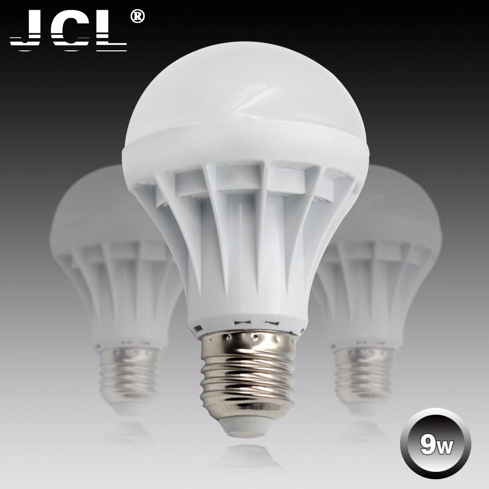 1PCS Lampada Led Lamp E27 bulb 9W 220V 110V SMD5730 Focos Luz ampoule Cold  Warm White lampadas     -> Lampada Spot Led