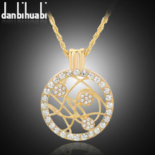 Buy KC gold color rhinestone necklaces pendants jewelry choker flower necklace jewelry rhinestone pendant choker pendant for $1.19 in AliExpress store