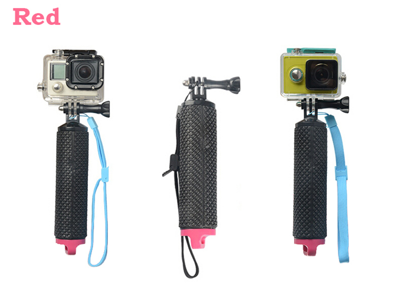1pc Gopro Accessories Bobber Floating Handheld Stick Hand Grip Monopod For Go Pro Hero 4S 4 3 3+ 2 1 SJ5000 SJ6000 for Xiaomi yi