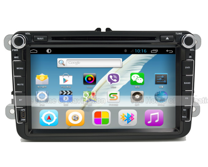 VW Car DVD Player GPS Navigation Android CD WiFi USB Map 3G Bluetooth TV In dash 2Din POLO JETTA GOLF()