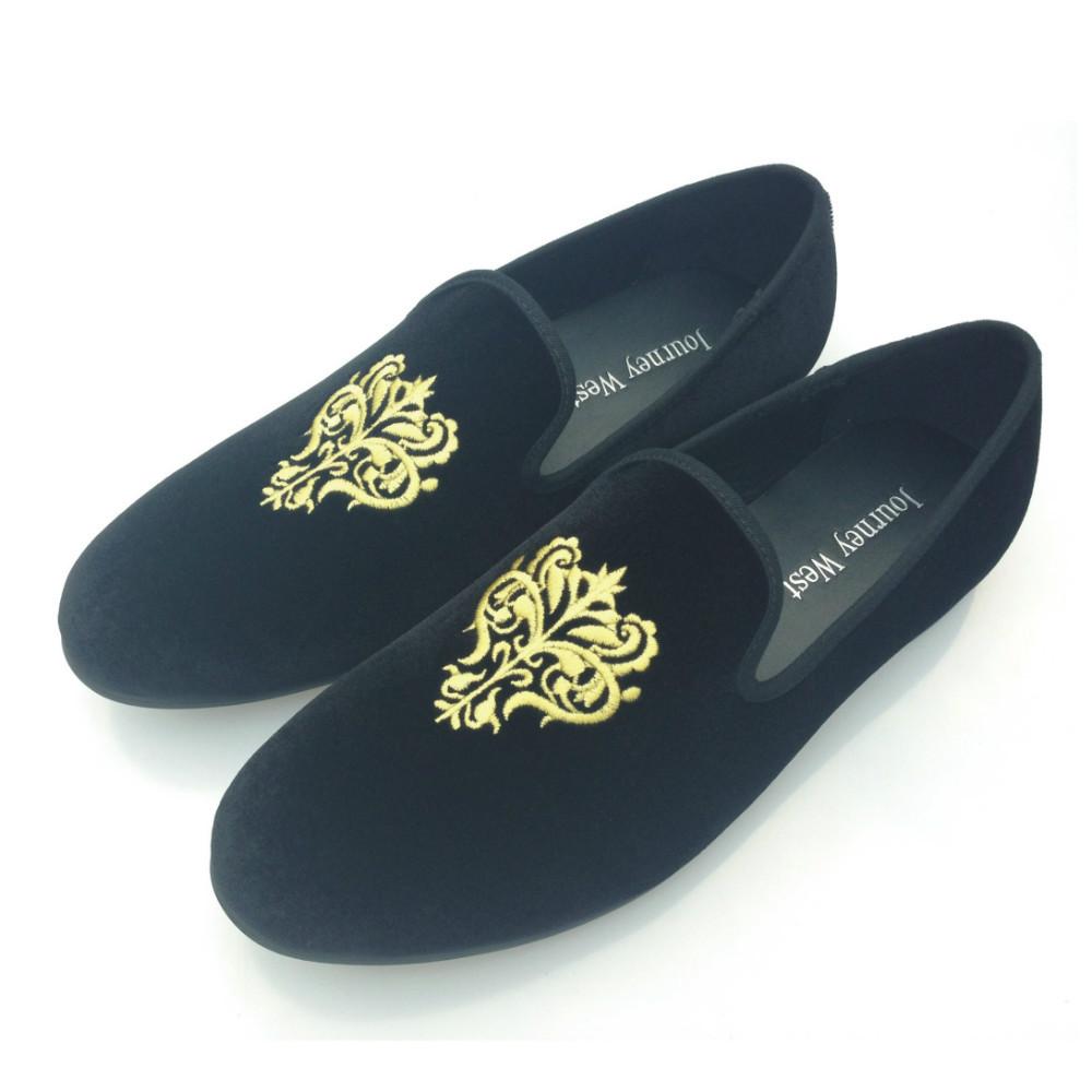 New 2015 Fashion Men Loafers Dress Shoes Brand Mens Velvet Shoes Men's Flats Man Smoking Slippers Black Party Shoes EU40-48(China (Mainland))