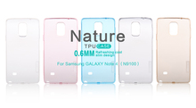 NILLKIN Ultra Thin Transparent Nature TPU Case For Samsung GALAXY Note 4 N9100 S Line Clear TPU Hard Soft Back For GALAXY Note 4(China (Mainland))