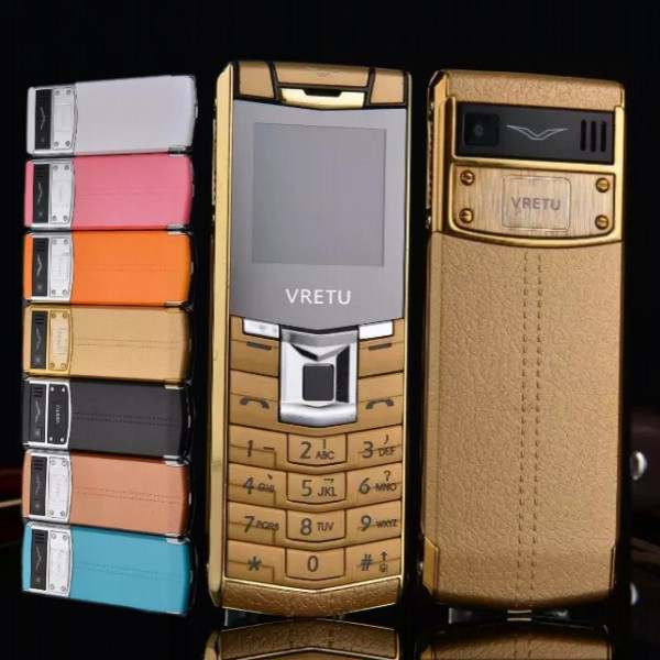 2015 Newest luxury bar phone Metal body francais espagnol unlocked brand mini mobile phone support Russian keyboard MP3 Dual sim(China (Mainland))