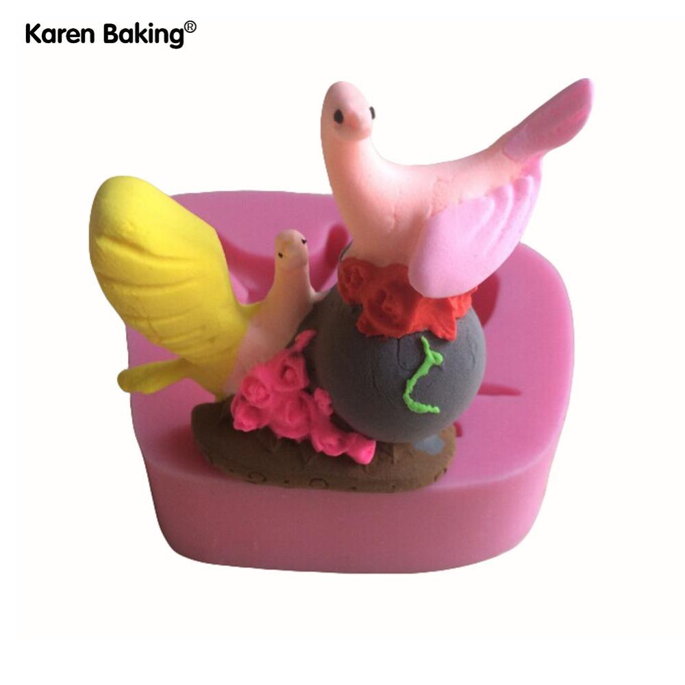 Strange Animal Shape Fondant 3D Molds, Silicone Mold Candle Moulds, Sugar Craft Tools, Chocolate Moulds, Bake Ware C175(China (Mainland))