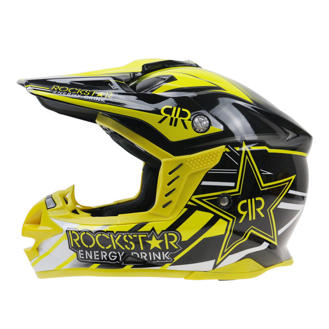 2016 Professional Motocross Helmet Rockstar Brand Motorcycle Capacete Casco Racing Casque(China (Mainland))