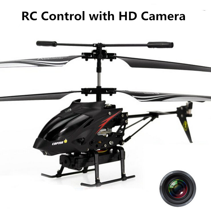 Brand New high quality electronic toy WL S977 3.5 CH Radio remote control RC helicopter Metal Gyro helicopter With Camera LED<br><br>Aliexpress