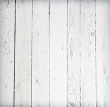 Clean White Wood Newborns Vintage Wood Backdrop D-7584