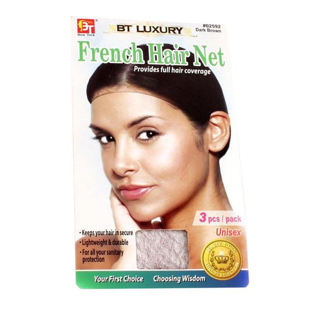 3 шт./упак. мужская нейлон сетки для волос черный сетки для волос легкий и прочный ...