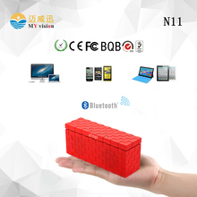 Red Super Bass Bluetooth 4.0 Stereo Wireless Portable Mini Speaker Handsfree TF FM Radio for Tablet PC Laptop Mobile Phone