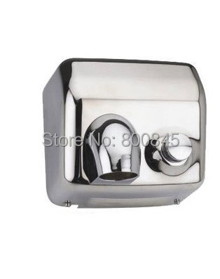 304 STAINLESS  STEEL RETAIL AND WHOLESALE NEW  2300w  Manual  HAND DRYER FACTORY SELL DIRECTLY aliexpress