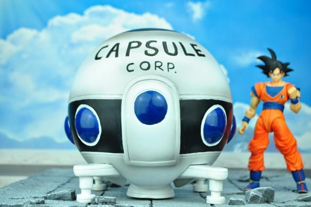 Jacksdo Dragon ball Z spaceship B resin made Scenes freeshipping<br><br>Aliexpress