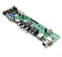 V59 Universal LCD TV Controller Driver Board PC/VGA/HDMI/USB Interface english key(China (Mainland))