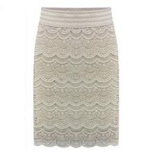 New High Waist Bodycon Skirt 2016 Lace Sexy Womens Skirts Female Black Saia Curta Feminino Vintage Lady pencil skirt in wedding
