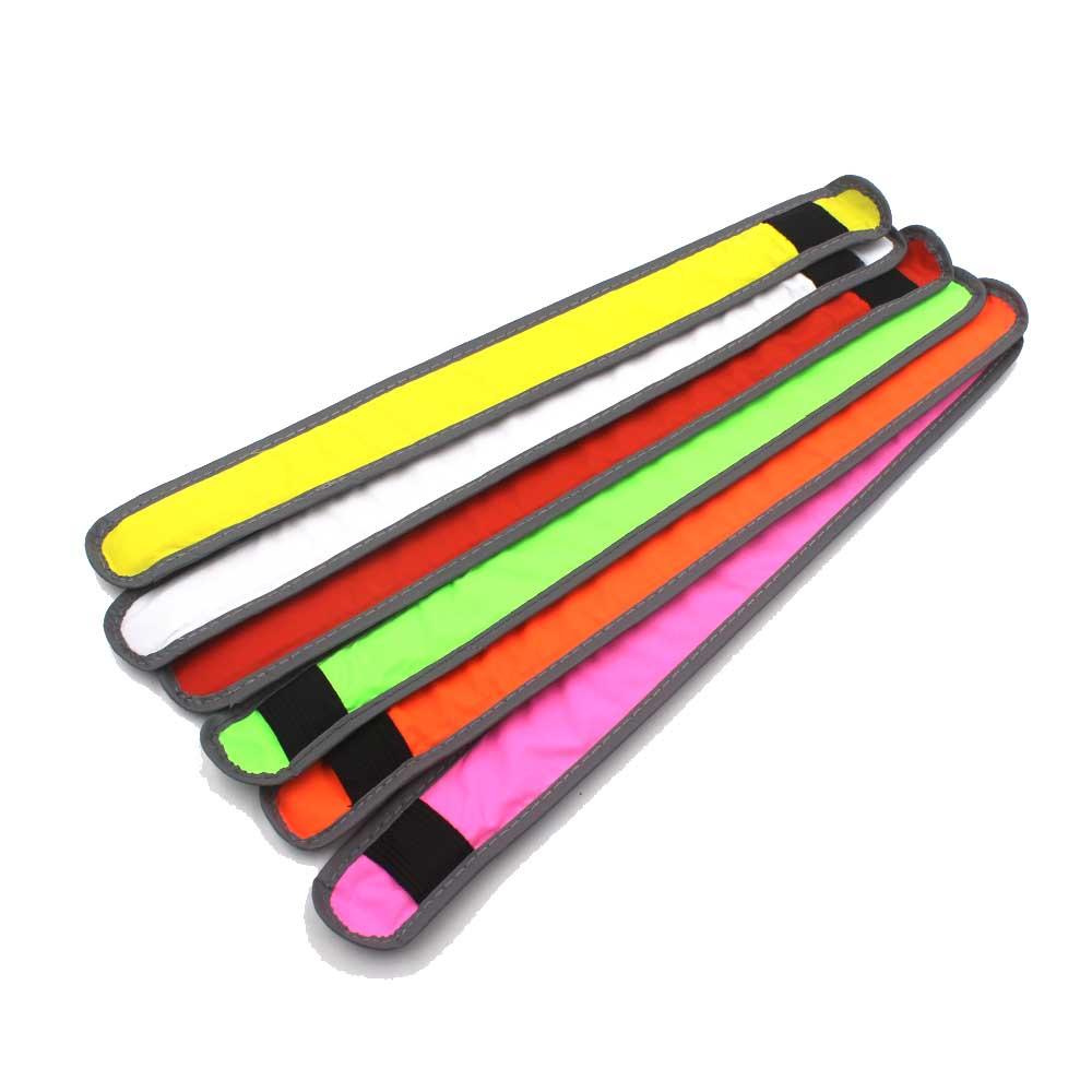 Arm Warmer Belt Bike LED Armband LED Safety Sports Reflective Belt Strap Snap Wrap Arm Band Armband(China (Mainland))