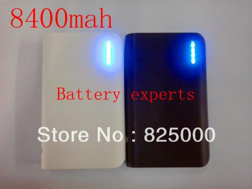 2 PC ultra low-cost mobile power 8400 mah general USB battery backup to external battery charger(China (Mainland))