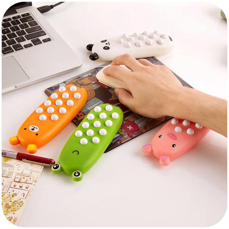 Cartoon ice pillow hand pillow wrist pad, prevent the mouse hand massage Hand pad, wrist bracket K5102(China (Mainland))
